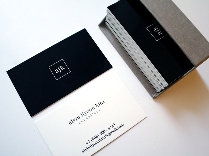 Personal business cards dawn lee design for my good friend who works as a freelance creative consultant the overall aesthetic of the logo and business card reflects colourmoves Images