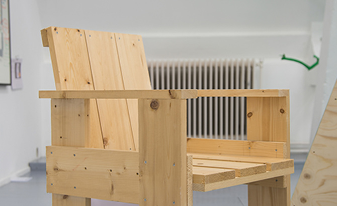 Rietveld Crate Chair, Aimée Zito Lema With LeRyan, (Un)usual Business ...    We Are The Time Machines