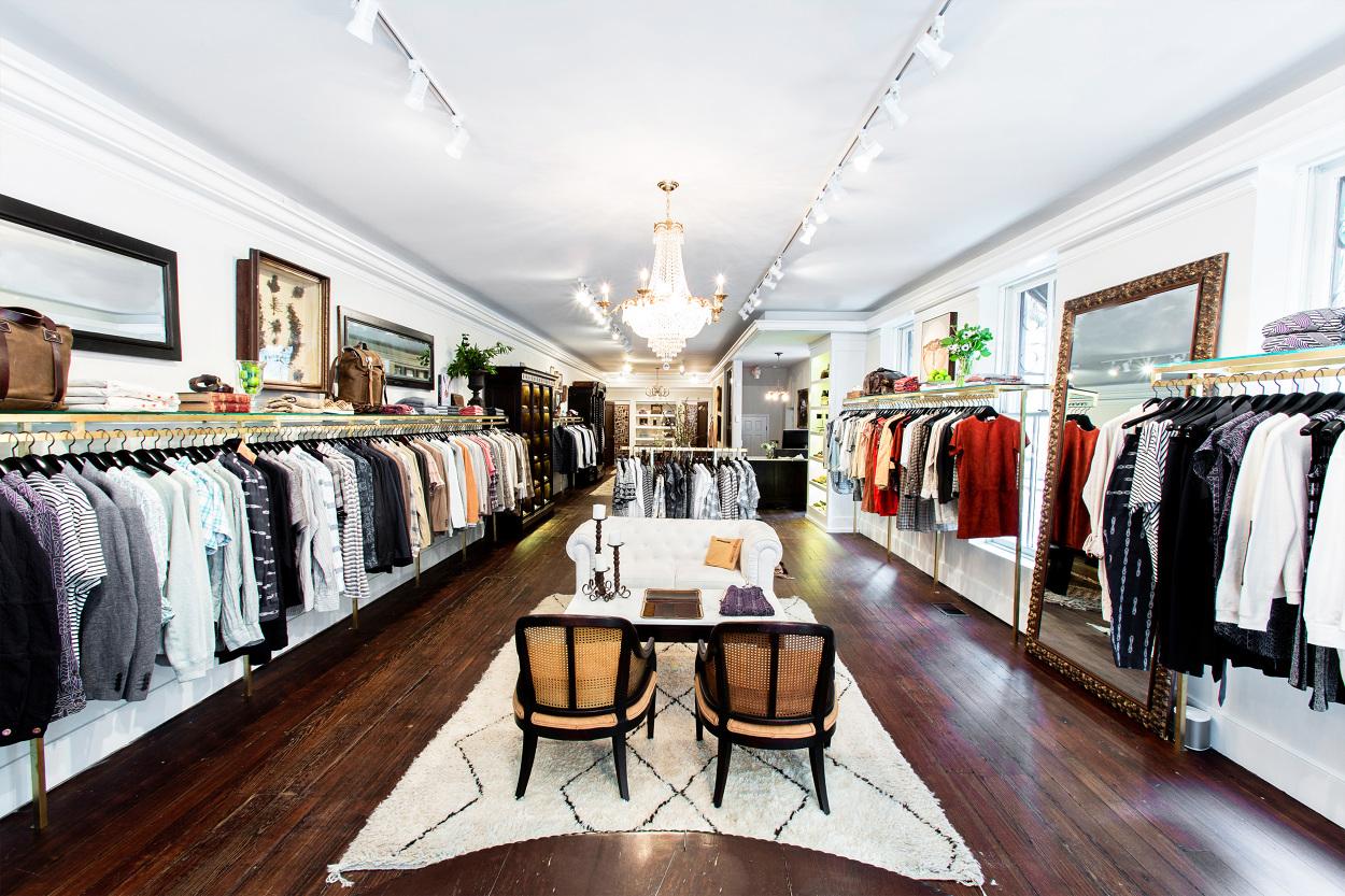 Billy Reid   Charleston Store Design Build