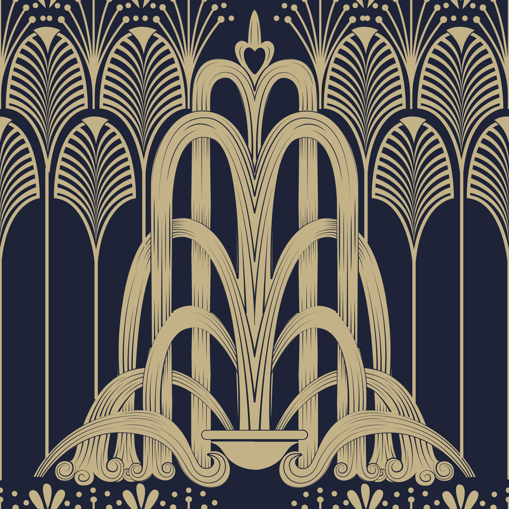 art deco design deco patterns beckman 29737